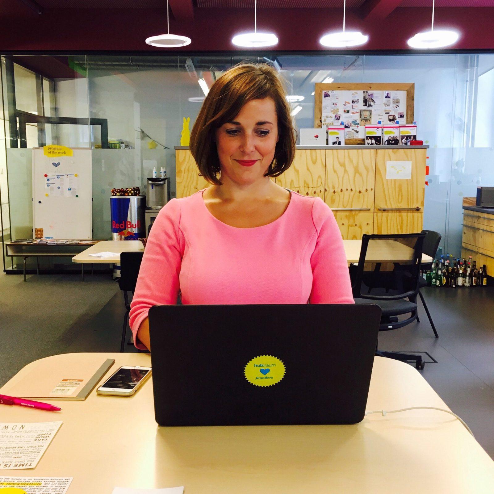 Anna Ott berät Startups bei HR Themen