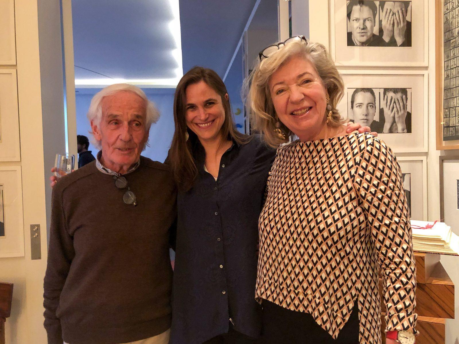 Lucy Martens mit Peter Raue und Andrea Gräfin von Bernstorff