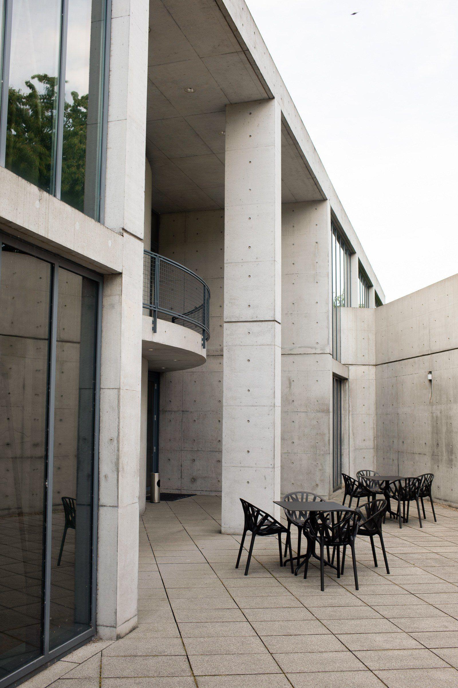 Konferenzpavillon auf dem Vitra Campus von Tadao Ando