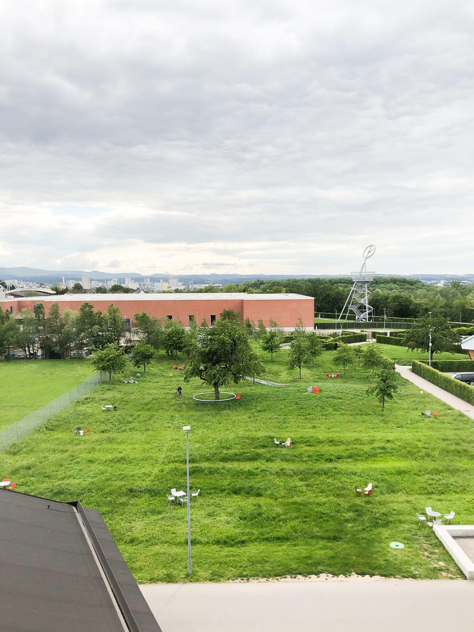Blick auf den Vitra Campus