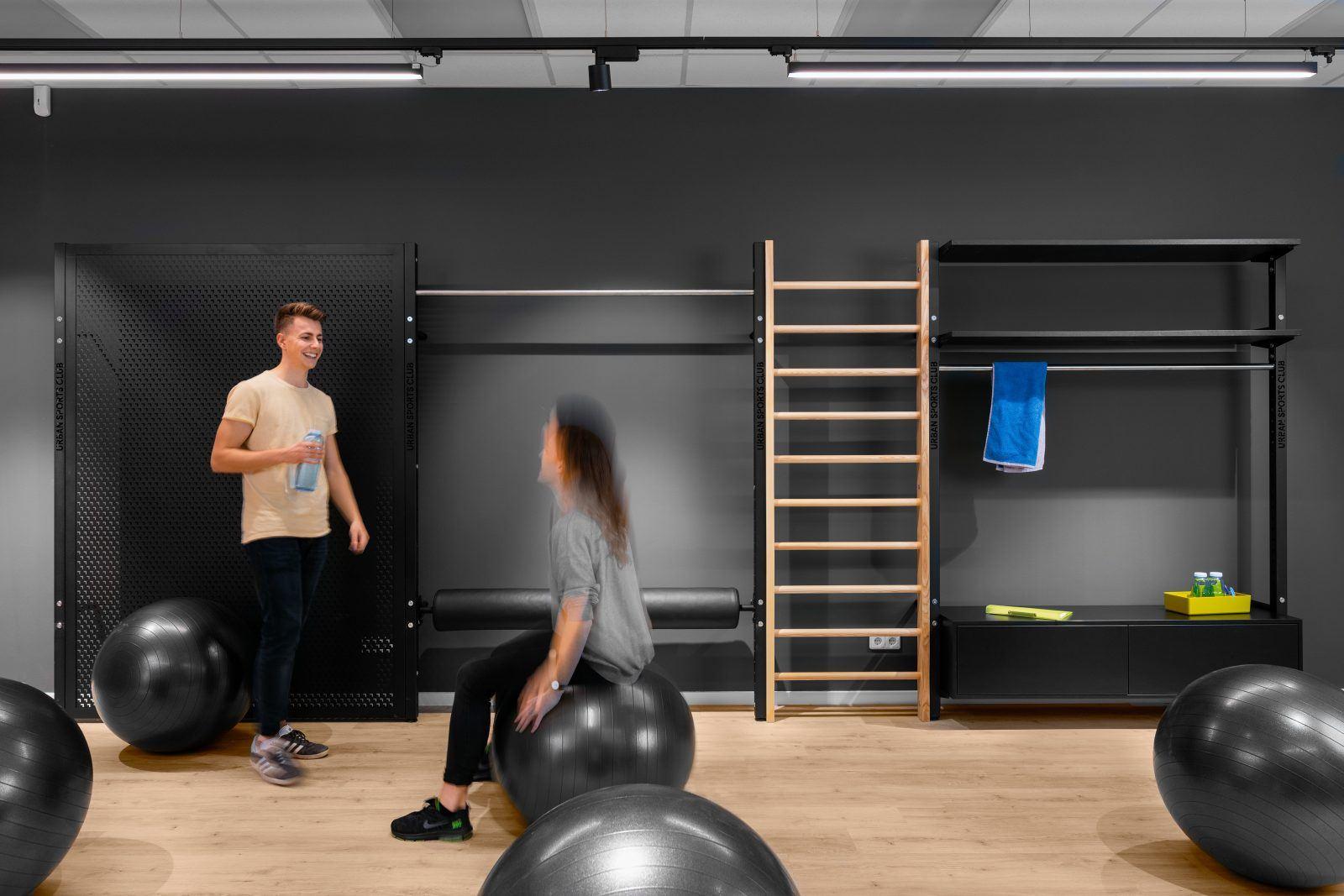 Sport im Meetingraum