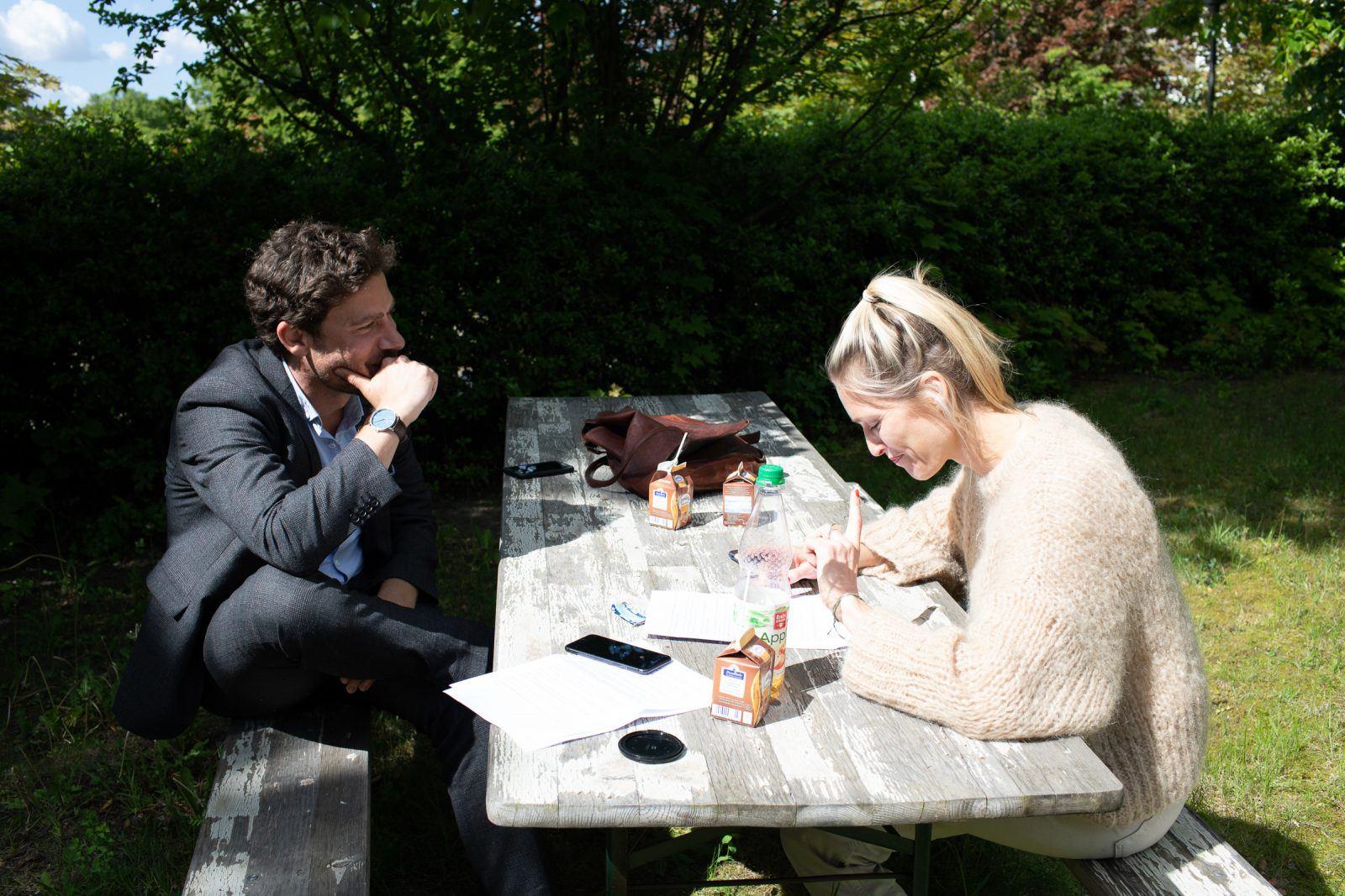 Anna Volquardsen und Philip Elsen