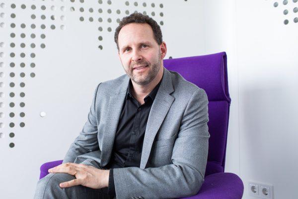 Signify CEO Karsten Vierke in Hamburg